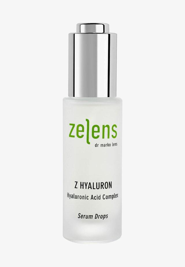 Z HYALURON HYALURONIC ACID COMPLEX SERUM DROPS - Serum - -