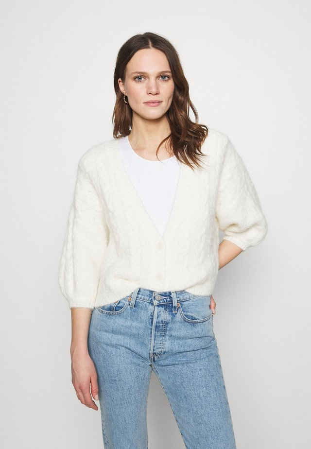 DOA CARDIGAN - Cardigan - off white