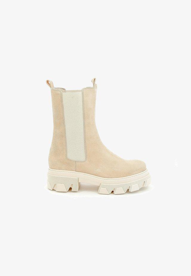 PARYDI - Korte laarzen - beige