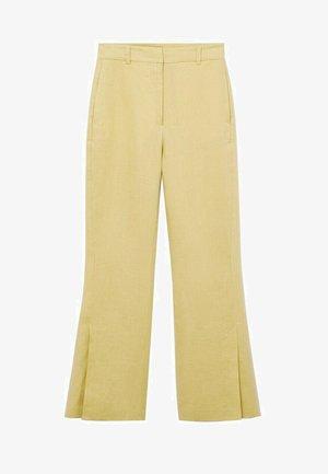 Kalhoty - mustard
