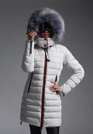 Down coat - ice grey