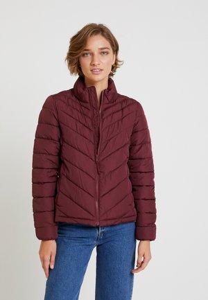 WARMEST PUFFER JACKET - Light jacket - dark maroon