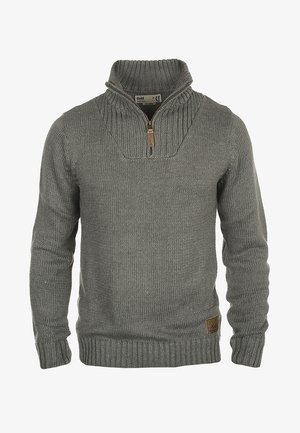 PETRO - Jumper - grey melange