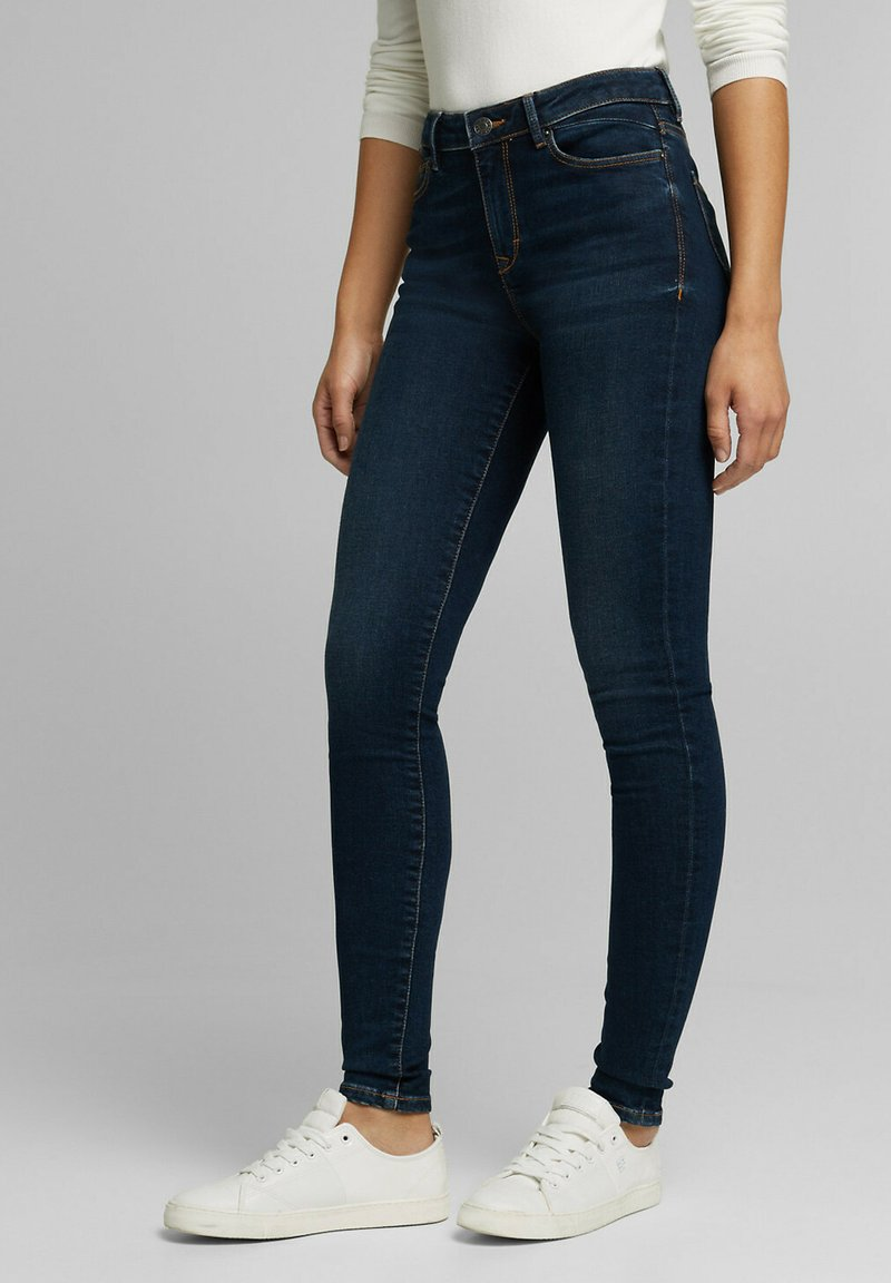 Esprit - Jeans Skinny Fit - blue dark washed