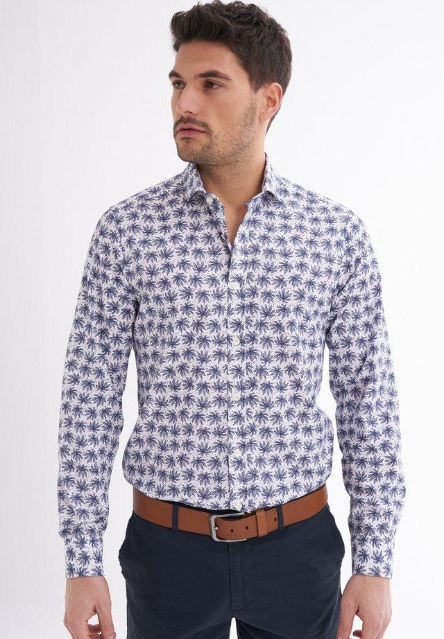 GAVINO BEDRUCKT - Shirt - dunkelblau