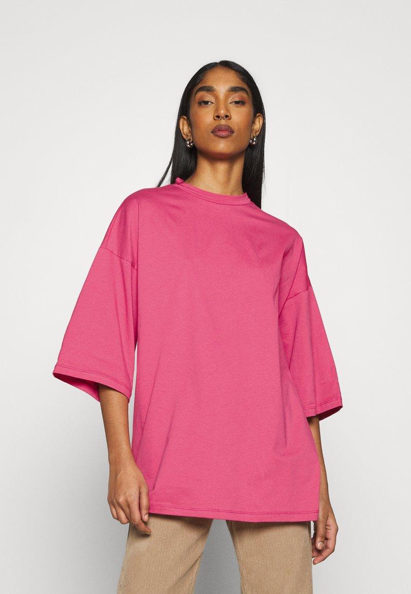 Object - OBJVERITA TEE - T-shirts - honeysuckle