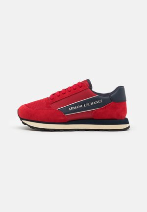 OSAKA  - Baskets basses - fire brick/navy/offwhite