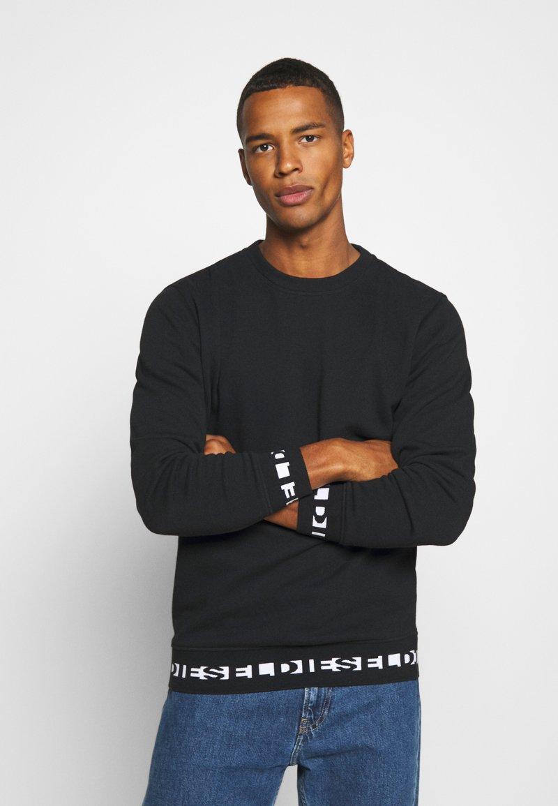 Diesel - UMLT-WILLY SWEAT-SHIRT - Sweatshirt - black