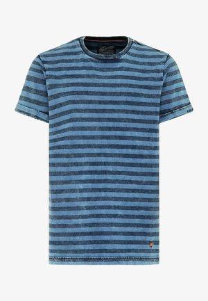 T-shirt print - azure blue