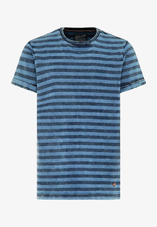 T-shirt z nadrukiem - azure blue