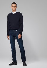 BOSS - MAINE - Straight leg jeans - dark blue - 1