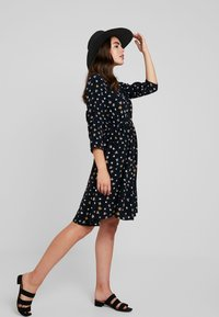 Vero Moda - VMVIVI DRESS - Day dress - black - 1