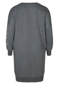 Active by Zizzi - WITH ROUND NECK - Day dress - dark grey - 7