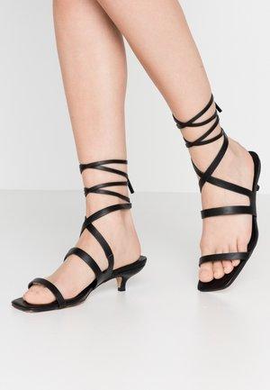 NARLA STRAP MINI - Sandaler - black