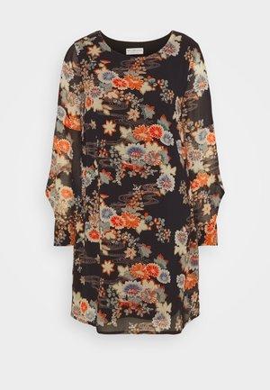 LADIES DRESS PREMIUM - Denní šaty - kimono black