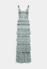 Maya Deluxe - ALL OVER EMBELLISHED MAXI WITH TIERS - Occasion wear - grey - 4
