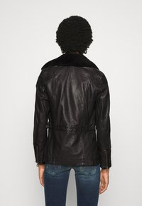 Gipsy - SALLIE - Leather jacket - black - 2