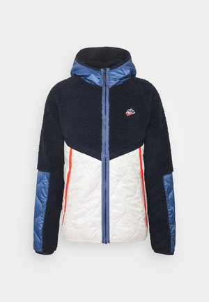 WINTER - Winter jacket - obsidian/orewood/chile red