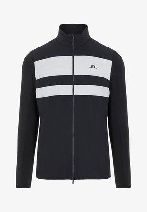 PACKLIGHT HYBRID - Fleece jacket - black