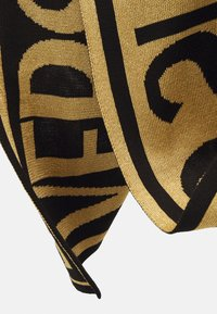 Versace Jeans Couture - UNISEX - Scarf - black/gold-coloured - 6
