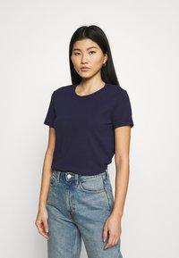 CALANDO - Basic T-shirt - dark blue - 0