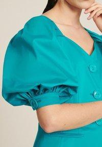 Luisa Spagnoli - VAGLIA - Summer jacket - turchese - 2