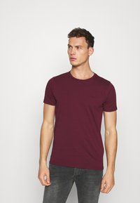 LTB - 2 PACK - T-shirts - bordeaux/ olive - 4