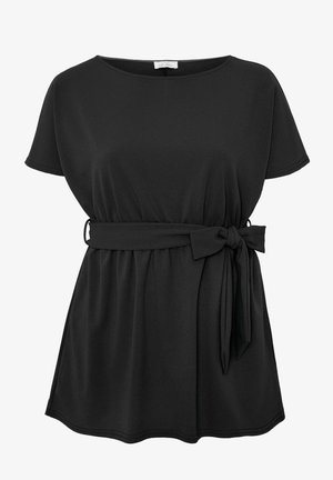 LONDON BELTED  - Tunic - black