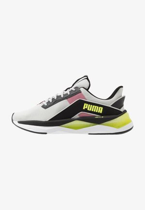 LQDCELL SHATTER XT GEO - Sports shoes - gray violet/black/fizzy yellow