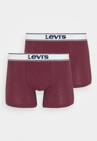 Levi's® - VINTAGE HEATHER 2P - Panties - red - 2