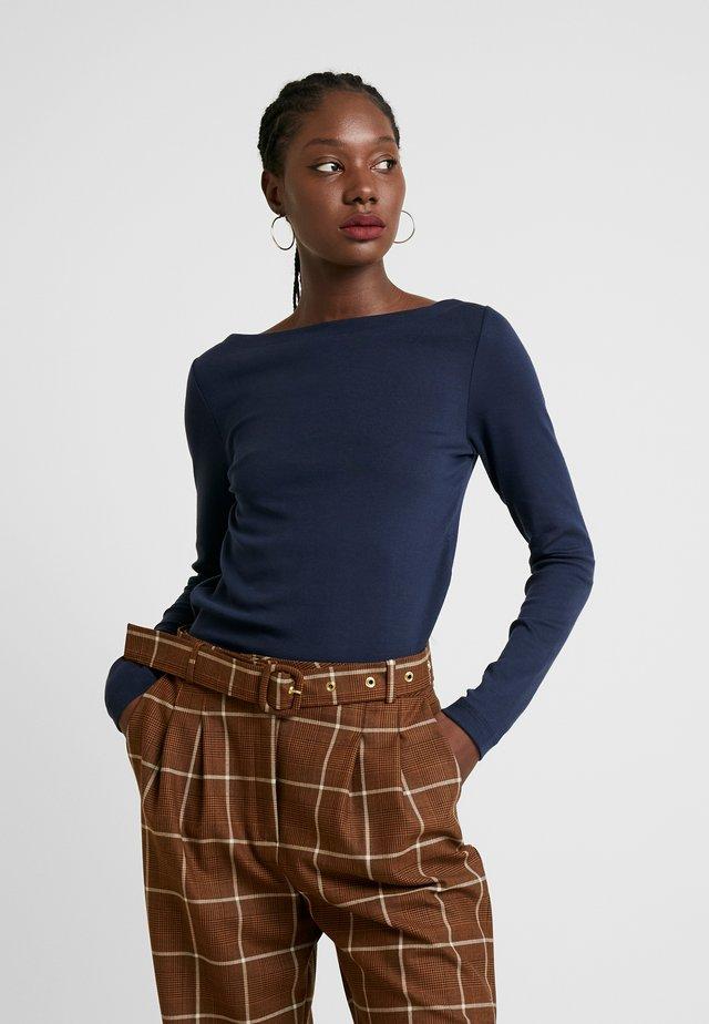 BOAT - Long sleeved top - true indigo