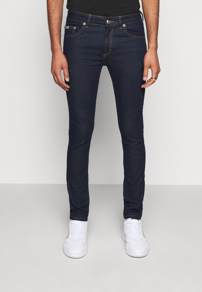Versace Jeans Couture - DENIM RINSE - Jeansy Slim Fit - indigo