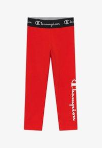 Champion - LEGACY AMERICAN CLASSICS LEGGINGS UNISEX - Legging - red - 2