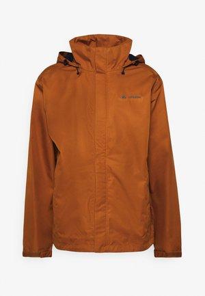 MENS ESCAPE LIGHT JACKET - Waterproof jacket - terra
