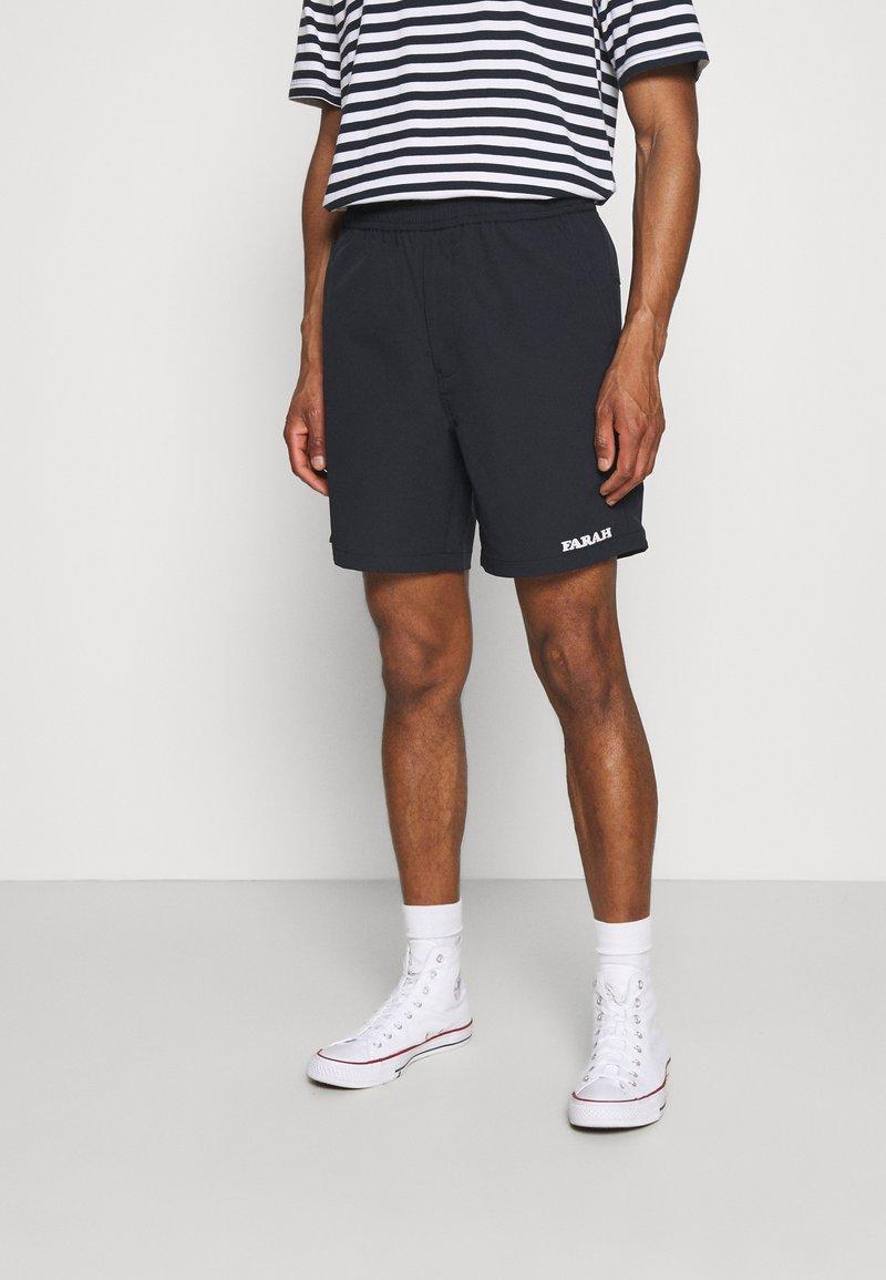 Farah - REDWALD DOBBY - Shorts - true navy