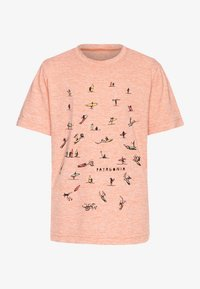 Patagonia - CAP COOL DAILY  - Print T-shirt - mellow melon - 0