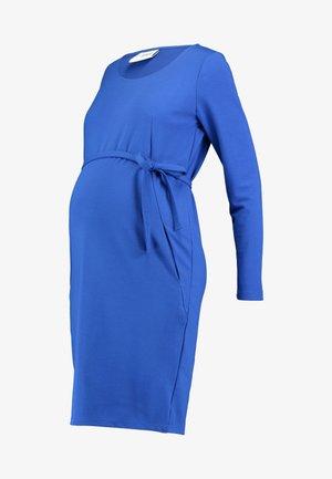 Jersey dress - nautical blue