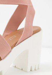 Madden Girl - SOHOO - Højhælede sandaletter / Højhælede sandaler - blush - 2