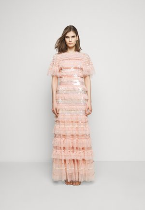 ARIANA SEQUIN GOWN - Occasion wear - seashell