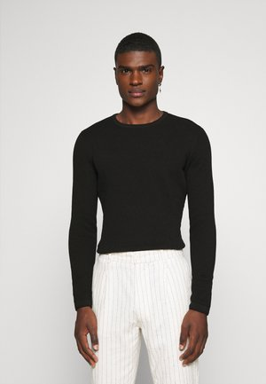 ONSPANTER LIFE CREW  - Stickad tröja - black