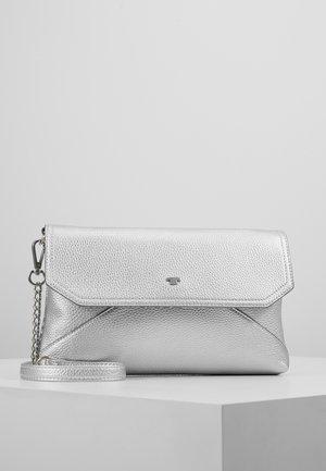 VITTORIA FLAPBAG - Across body bag - silver