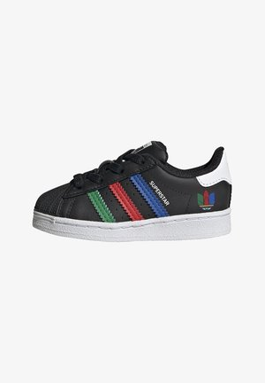 SUPERSTAR SHOES - Matalavartiset tennarit - black