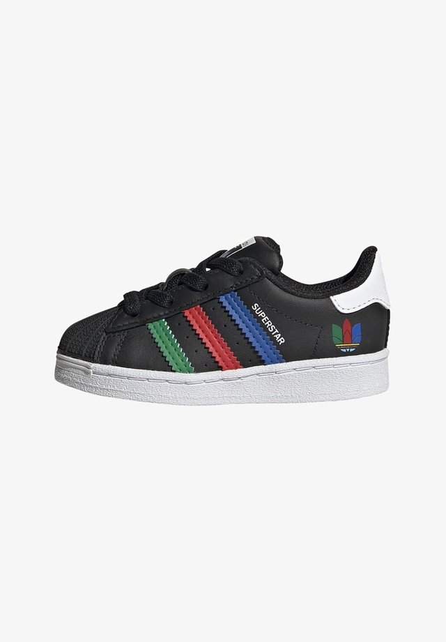 SUPERSTAR SHOES - Sneakers basse - black