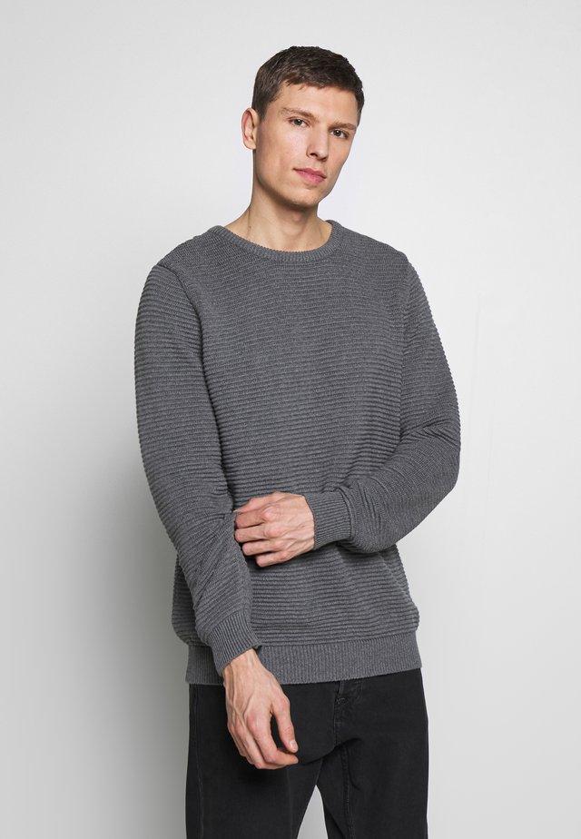 THE ORGANIC PLAIN - Pullover - light grey