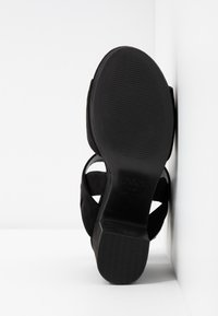 New Look - SELVEDERE - High heeled sandals - black - 6
