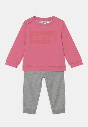 SET UNISEX - Tracksuit - rose/clear pink/medium grey
