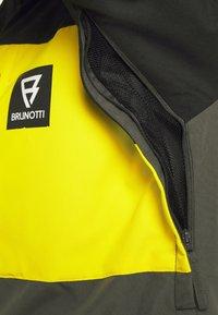 Brunotti - ARACIN MENS SNOWJACKET - Snowboardová bunda - pine grey - 7