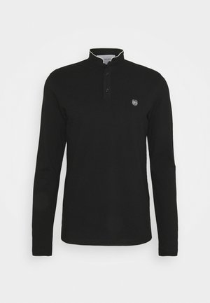 Polo shirt - black/silver