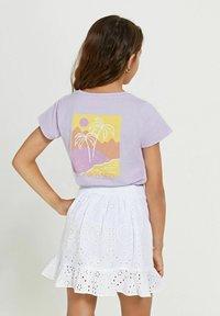 Shiwi - Wrap skirt - bright white - 2