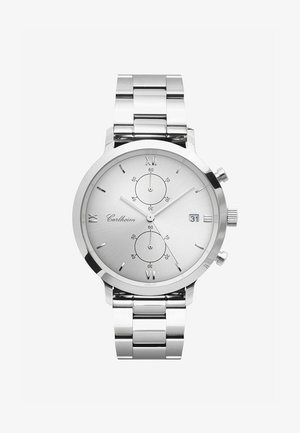 ADLER 42MM - Chronograph watch - silver-silver